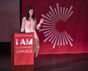 Serafina Palandech presents at Cultivating Change Summit