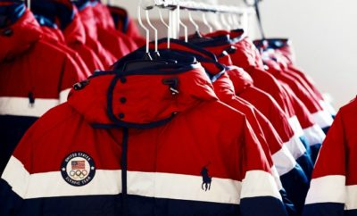 U.S. Winter Olympics heated jacket