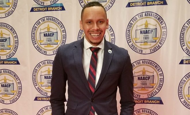 Kevin Heard, president board of directors of the Detroit Regional LGBT Chamber of Commerce