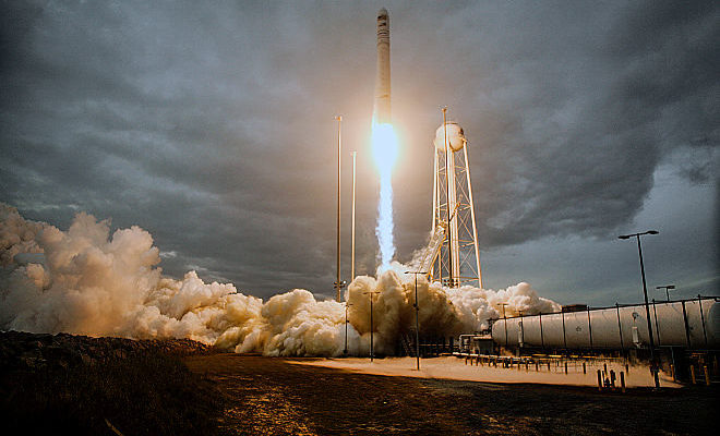 Northrop Grumman Antares rocket launch
