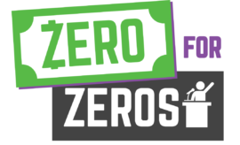 Zero for Zeros logo