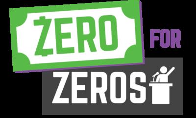 Zero for Zeros logo
