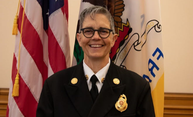 Chief Jeanine Nicholson San Francisco Fire Department