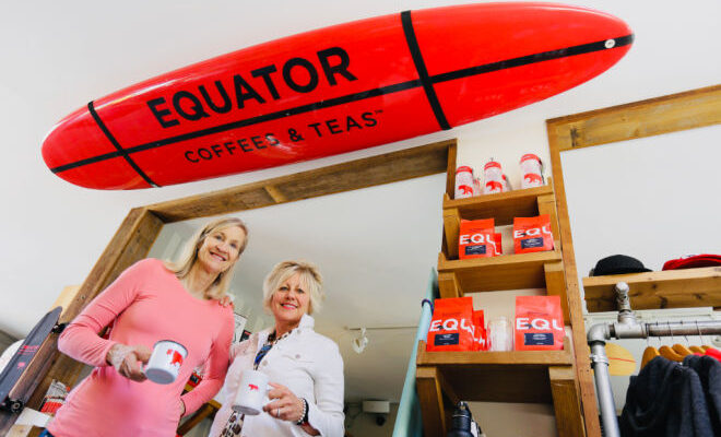 Brooke McDonnell & Helen Russell of Equator Coffees