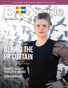 Cover of BEQ Pride Magazine